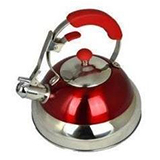 Red Modern Whistling Kettle