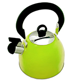 Lime Green Whistling Kettle
